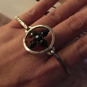 Thomas Sabo Sterling Silver Bracelet with Black CZ